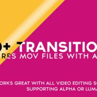 VIDEOHIVE 100+ ALPHA TRANSITIONS PACK FREE DOWNLOAD