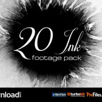 VIDEOHIVE 20 INK FOOTAGE PACK – STOCK FOOTAGE