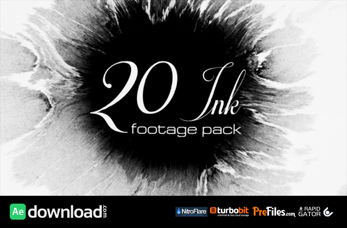 20 Ink footage pack (Stock Footage)