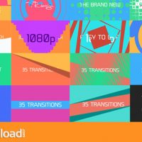 35 COOL MOTION GRAPHICS TRANSITIONS (VIDEOHIVE) Dropbox