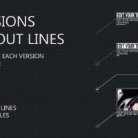 VIDEOHIVE 8 LINE CALL-OUTS – AFTER EFFECTS PROJECT