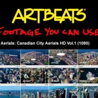 ARTBEATS – AERIALS CANADIAN CITY AERIALS HD VOL.1 (1080)
