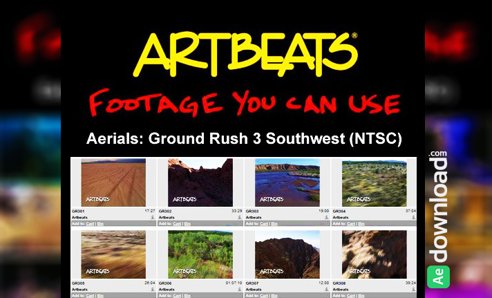 ARTBEATS - AERIALS GROUND RUSH 3 SOUTHWEST (NTSC)