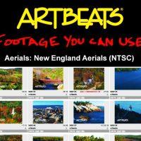 ARTBEATS – AERIALS NEW ENGLAND AERIALS (NTSC)