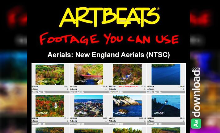 ARTBEATS - AERIALS NEW ENGLAND AERIALS (NTSC)