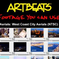 ARTBEATS – AERIALS WEST COAST CITY AERIALS (NTSC)