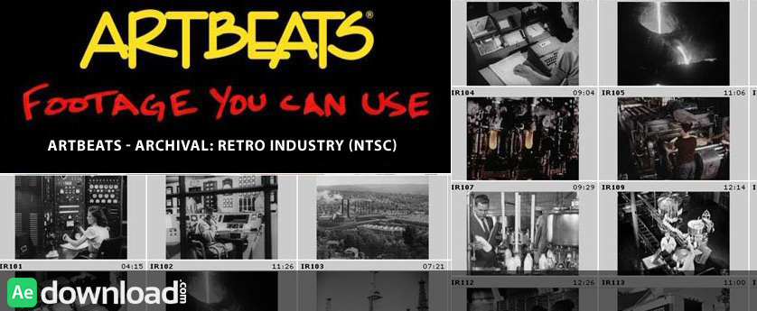 ARTBEATS - ARCHIVAL RETRO INDUSTRY (NTSC)
