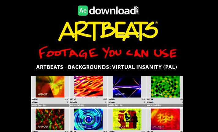 ARTBEATS - BACKGROUNDS VIRTUAL INSANITY (PAL)1
