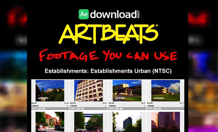 ARTBEATS - ESTABLISHMENTS ESTABLISHMENTS URBAN (NTSC)