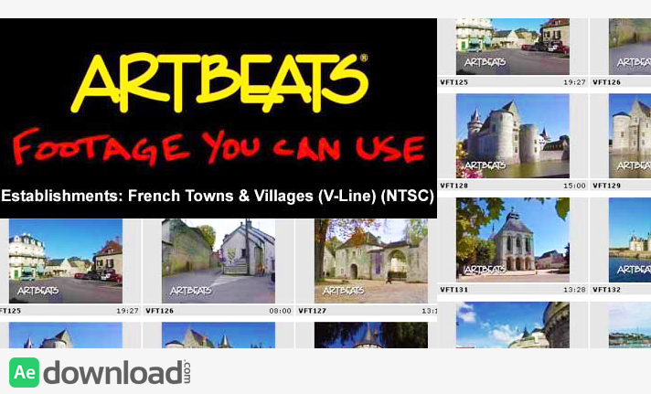 ARTBEATS - ESTABLISHMENTS FRENCH TOWNS & VILLAGES (V-LINE) (NTSC)