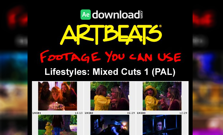 ARTBEATS - LIFESTYLES: MIXED CUTS 1 (PAL)