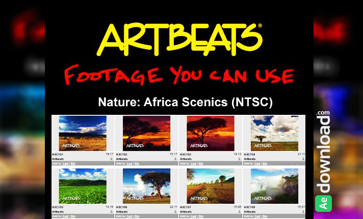 ARTBEATS - NATURE AFRICA SCENICS (NTSC) free download