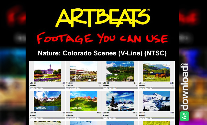ARTBEATS - NATURE COLORADO SCENES (V-LINE) (NTSC)