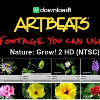 ARTBEATS – NATURE GROW! 2 HD (NTSC)