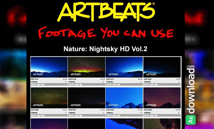 ARTBEATS - NATURE NIGHTSKY HD VOL.2 (1080P)