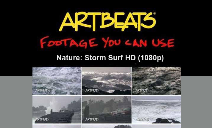 ARTBEATS - NATURE STORM SURF HD (1080P)1