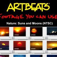 ARTBEATS – NATURE SUNS AND MOONS (NTSC)