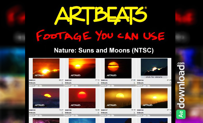 ARTBEATS - NATURE SUNS AND MOONS (NTSC) 1