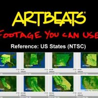 ARTBEATS – REFERENCE US STATES (NTSC)