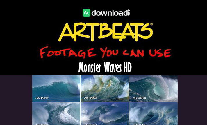 Artbeats - Nature Monster Waves HD (1080p) Part 1