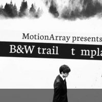 B&W TRAILER – AFTER EFFECTS TEMPLATES (MOTION ARRAY)