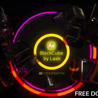 VJ FOOTAGE: BLACKCUBE (RESOLUME)FREE
