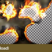 BURN SMOKE TRANSITION – MOTION GRAPHICS (VIDEOHIVE)