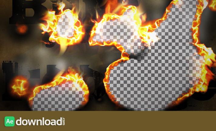 Burn Smoke Transition free download