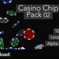 CASINO CHIP PACK 02 – MOTION GRAPHIC (VIDEOHIVE)