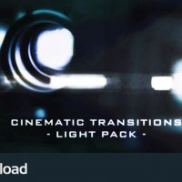 MOTION GRAPHICS – CINEMATIC LIGHT TRANSITIONS – 11 PACK (VIDEOHIVE)