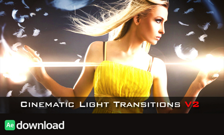 Cinematic Light Transitions V2 - 10 pack free download