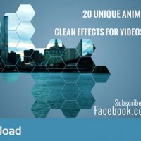 MOTION GRAPHIC – CLEAN ANIMATED MOTION MATTES PACK 3 (VIDEOHIVE)