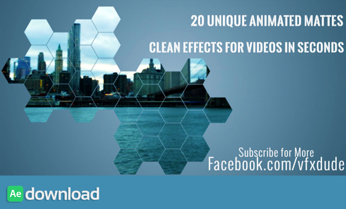 Clean Animated Motion Mattes Pack 3 free download