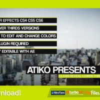 CLEAN REVEAL LOWER THIRDS VIDEOHIVE FREE DOWNLOAD