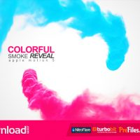 VIDEOHIVE COLORFUL SMOKE REVEAL 10284915 – APPLE MOTION