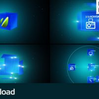 VIDEOHIVE COMPANY SCHEME – MOTION GRAPHIC PRESENTATION