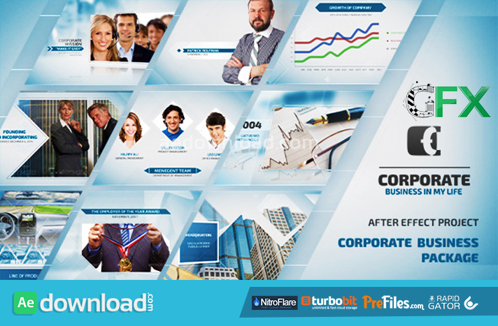company profile after effects templates free download - videohive corporate business package free download free