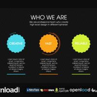 VIDEOHIVE DESIGN AGENCY INFOGRAPHIC FREE DOWNLOAD