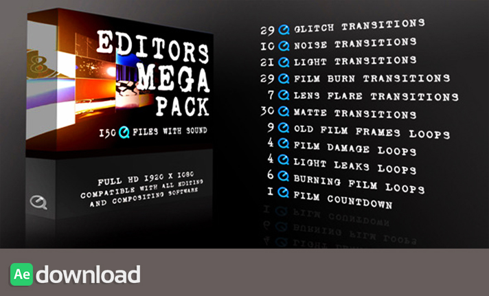Editors Mega Pack free download