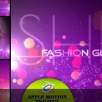 FASHION GLITTERS – APPLE MOTION TEMPLATE (VIDEOHIVE)
