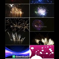 FIREWORKS BUNDLE – STOCK FOOTAGE (ISTOCK VIDEO)