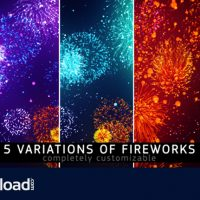FIREWORKS – MOTION GRAPHIC (VIDEOHIVE)