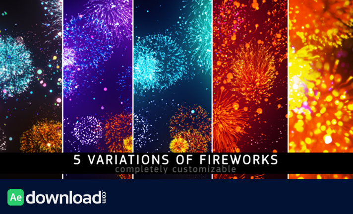 Fireworks motion graphic videohive free after for After effect motion graphics templates