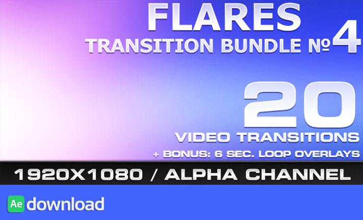 Flares Transition Bundle - 4 free download