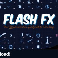 FLASH FX – ANIMATION PACK – MOTION GRAPHIC (VIDEOHIVE)