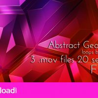 VIDEOHIVE GEOMETRIC ABSTRACT TECHNO SURFACE