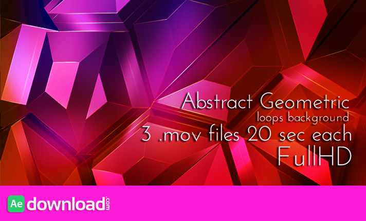 Geometric Abstract Techno Surface free download