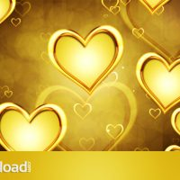 GOLDEN HEARTS – MOTION GRAPHICS (VIDEOHIVE) FREE