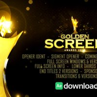 VIDEOHIVE GOLDEN SCREEN AWARDS – AFTER EFFECTS TEMPLATES