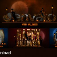 VIDEOHIVE HALLOWEEN BUMPER – FREE DOWNLOAD
